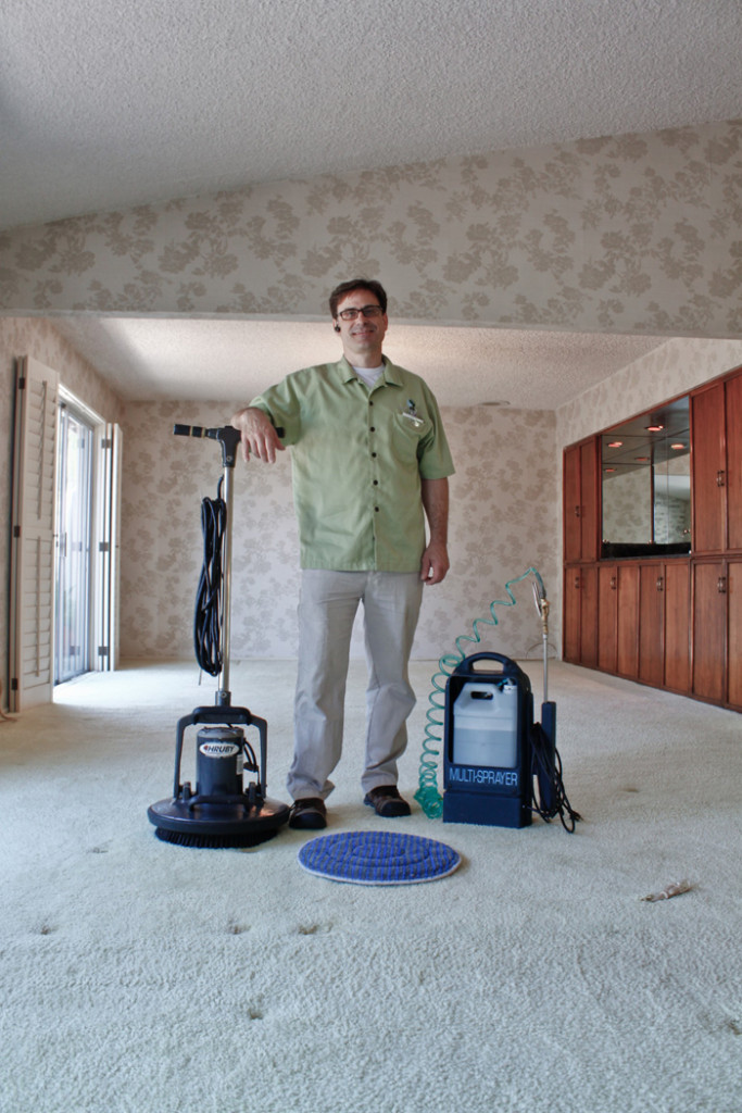 Low moisture carpet cleaning service is green cleaning in Los Angeles