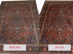 Before and After Persian Rug Cleaning
